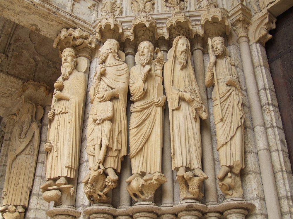 einige gotische kathedralen